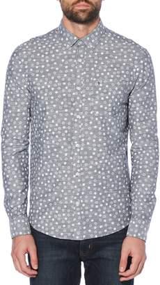 Original Penguin Print Chambray Shirt