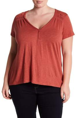 Susina V-Neck Tee (Plus Size)