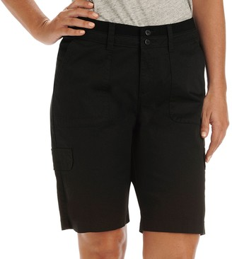 Lee Women's Avery Comfort Waist Cargo Bermuda Shorts