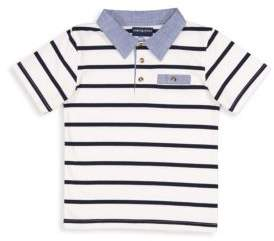 Andy & Evan Toddler's and Little Boy's Striped Polo