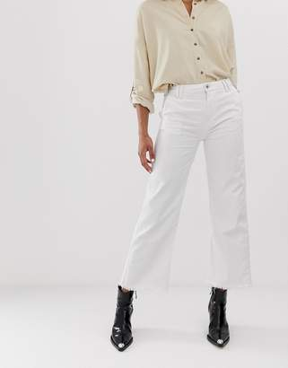 Pepe Jeans Patsy cropped wide leg jeans
