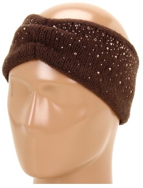 Gabriella Rocha Holinda Rhinestone Headband (Brown) - Accessories