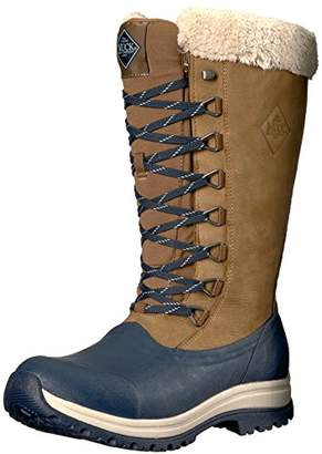 c30281e9de4 Muck Boot Muck Arctic Après Tall Rubber & Leather Lace-Up Women's Winter  Boots