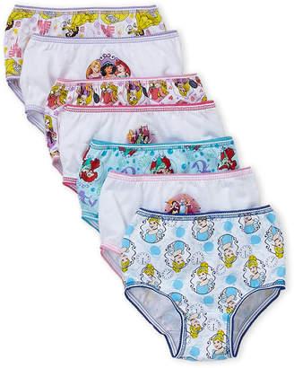 Disney Princess (Toddler Girls) 7-Pack Princess Panties