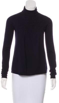 Joseph Wool-Blend Knit Turtleneck