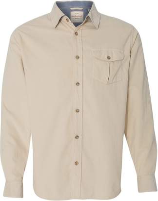 Weatherproof Vintage Mini Cord Long Sleeve Shirt 154867 M