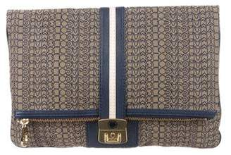Marc by Marc Jacobs Monogram Fold-Over Clutch