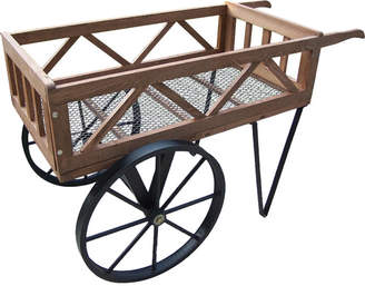 Oakland Living Cedar Wheelbarrow Planter