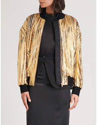 Metallic Jackets Womens Shopstyle Uk