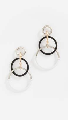 Eddie Borgo Simple Interlocking Earrings