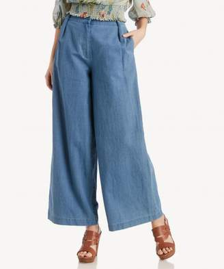Sole Society Pleated Wide Leg Pants