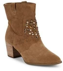 Anne Klein Guinn Embellished Ankle Boots