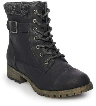 Now Or Never Now or Never State Women's Combat Boots
