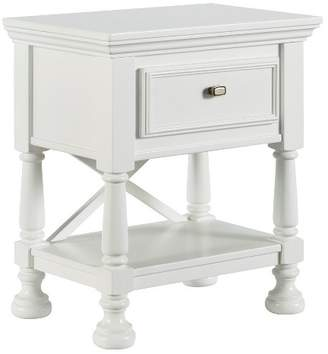 Signature Design by Ashley Kaslyn One Drawer Nightstand White