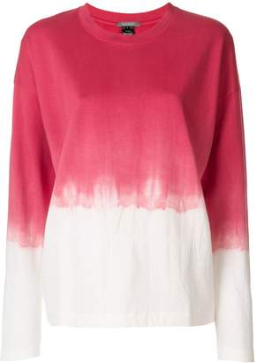 Suzusan dip dye long-sleeve T-shirt