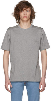 Brioni Grey Pocket T-Shirt
