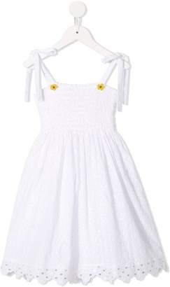 Oscar de la Renta Kids sleeveless flared dress