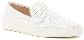 Via Spiga Galea Perforated Leather Slip-On Sneaker $175 thestylecure.com