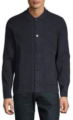 Michael Kors Ribbed Shirt Jacket