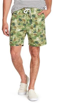 Sovereign Code Skedaddle Palm Tree Print Shorts