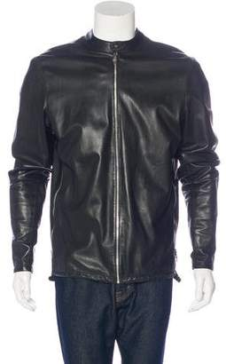 Chrome Hearts Sterling-Accented Leather Jacket