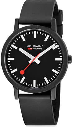 Mondaine (モンディーン) - モンディーン(MONDAINE) スイス レイルウェイ エッセンス ウォッチ 41ミリ ブラックダイヤル