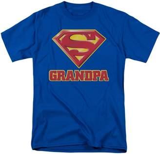 Superman Mens Super Grandpa T-Shirt