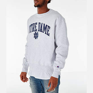 Champion Men's Notre Dame Fighting Irish College Reverse Weave Crewneck Sweatshirt