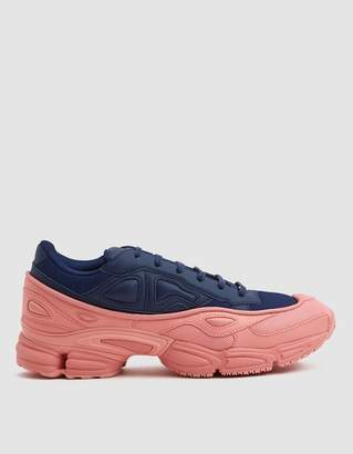 Raf Simons Adidas X RS Ozweego Sneaker in Tactile Rose/Dark Blue