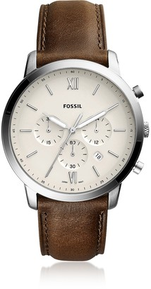 Fossil Neutra Chronograph Brown Leather Men's Watch