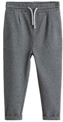 MANGO Pinstripe jogging trousers