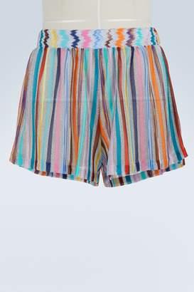 Missoni Lame shorts