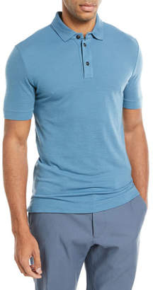 Giorgio Armani Wool Polo Shirt