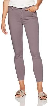 Madison Women's Astor Skinny Ankle Jean with Cut Off Hem