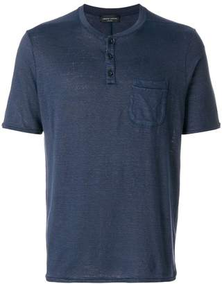 Roberto Collina button pocket T-shirt