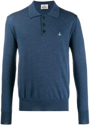 Vivienne Westwood knitted polo shirt