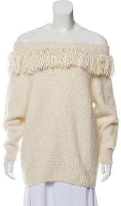 Eleven Paris Six Wool and Alpaca-Blend Bailey Sweater w/ Tags
