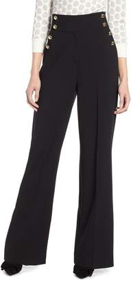 Halogen x Atlantic-Pacific High Waist Wide Leg Pants