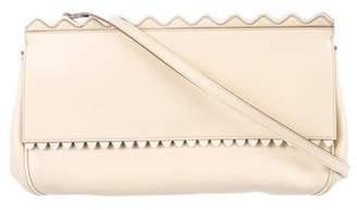 Stella McCartney Scalloped Vegan Leather Crossbody Bag