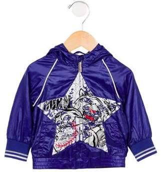 John Galliano Boys' Printed Windbreaker Jacket