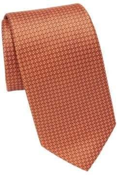 Eton Patterned Silk Tie