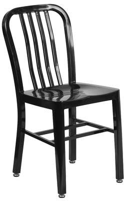 Latitude Run Phineas Metal Side Chair