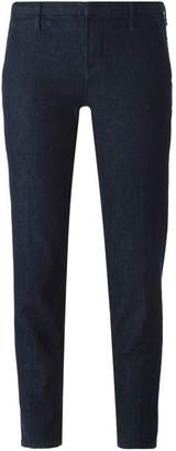 J Brand straight leg cropped jeans
