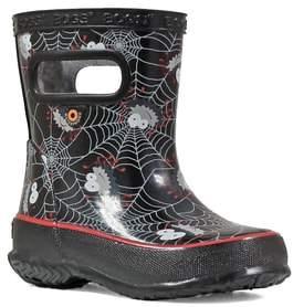 Bogs Skipper Smiley Spiders Rubber Rain Boots