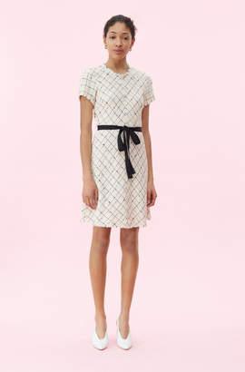 Rebecca Taylor Plaid Tweed Dress