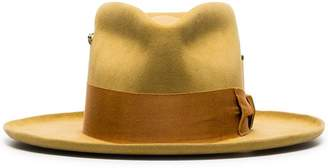 Oasis Nick Fouquet yellow zain beaver fur fedora hat