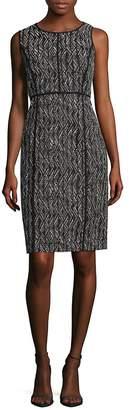 Lafayette 148 New York Women's Vienna Patterned Sheath Dress