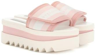 Stella McCartney Sneak-Elyse platform slides