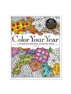 Workman Publishing Color Your Year Coloring Book