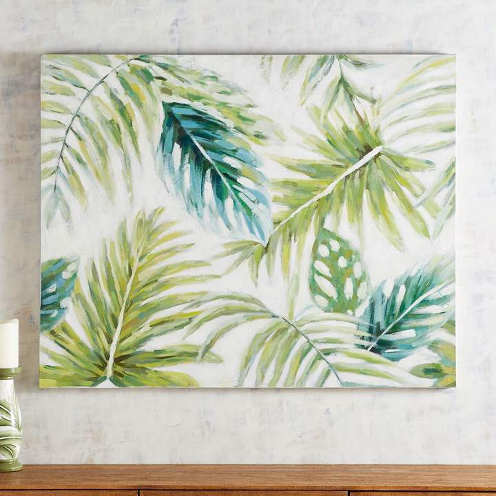 Tropical Leaves Art